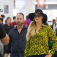 Exclusif - Paris Hilton arrive à l'aéroport de Melbourne, le 25 novembre 2018.