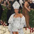 Rihanna à l'ouverture du Met Gala à New York, le 7 mai 2018.