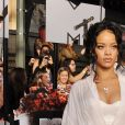 Rihanna aux MTV Awards au Nokia Theatre à Los Angeles. Le 13 avril 2014