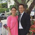 Pauline Ducruet et son père Daniel en juin 2016, photo Instagram