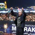 Robert De Niro lors de son hommage sur la place Jemaa el-Fna lors du 17ème Festival international du Film de Marrakech au Maroc le 2 Decembre 2018. © Denis Guignebourg/Bestimage