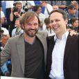 Vincent Perez et le réalisateur Denis Dercourt