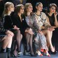 Lily Rose Depp, Carine Roitfeld, Sofia Coppola, Marion Cotillard, Penélope Cruz - Défilé de mode Chanel, collection Métiers d'Art 2018/2019 au Metropolitan Museum of Art à New York, le 4 décembre 2018.