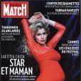 Laetitia Casta en couverture de Paris Match