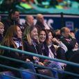 Amélie Mauresmo - People lors du 4ème match de la Finale de la coupe Davis en simple opposant la France à la Belgique remporté par D.Goffin (7-6 [5], 6-3, 6-2) au Stade Pierre Mauroy à Lille , le 26 novembre 2017. © Perusseau-Veeren/Bestimage