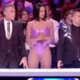 """Shy'm dans """"Danse avec les stars 9"""" sur TF1 le 3 novembre 2018."""
