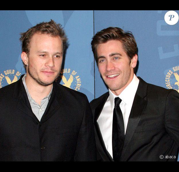 Heath Ledger et son ami Jake Gyllenhaal