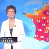 Catherine Laborde : Son bref retour à la météo pour un bulletin catastrophe !