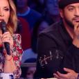 """Hélène Ségara et Slimane - """"La France a un incroyable talent 2018"""" sur M6. Le 11 décembre 2018."""