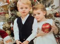 Jacques et Gabriella de Monaco : Les jumeaux très chic devant le sapin familial