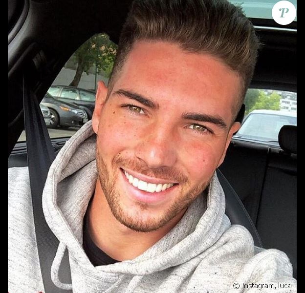 Luca Zidane poste un selfie de lui pris dans sa voiture le 19 novembre 2018 sur Instagram.