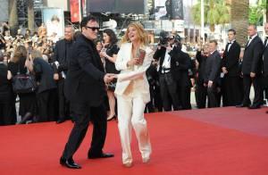 Mélanie Laurent et Quentin Tarantino : revivez leur danse endiablée sur le tapis rouge ! Regardez !