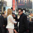 Mélanie Laurent et Quentin Tarantino dansent sur le tapis rouge, à Cannes, juste avant la projection du film Inglourious Basterds. 20/05/09