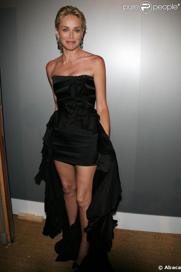 Sharon Stone, ce soir au gala de l'amfAR !