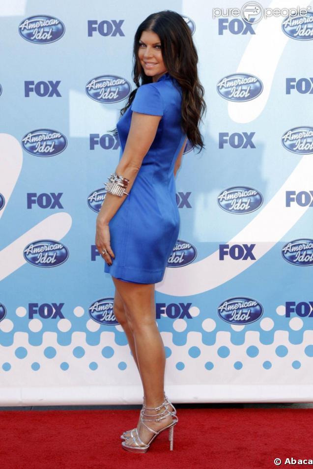 Fergie à la grande finale d' American Idol .