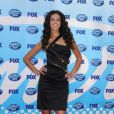 Terri Seymour à la grande finale d' American Idol .