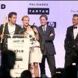 Sharon Stone, Diane Kruger, Mélanie Laurent et les Basterds au gala de l'amfAR. 21/05/09