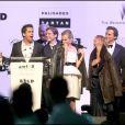 Diane Kruger, Mélanie Laurent et l'équipe d'Inglourious Basterds au gala de l'amfAR. 21/05/09