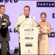 David Furnish et Hayden Panettiere au gala de l'amfAR. 21/05/09