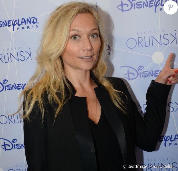 Exclusif - Caroline Vigneaux - 1er anniversaire de la collaboration entre l'artiste contemporain Richard Orlinski avec le parc Disneyland Paris, au Disney Store, à Paris, France, le 4 octobre 2018. © Rachid Bellak/Bestimage