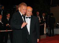 Patrick Poivre d'Arvor en famille face à la Marquise des Anges Michèle Mercier... Cannes toujours glamour !