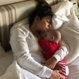 Eva Longoria et son fils Santiago. Décembre 2018.