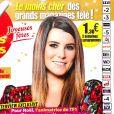"""Karine Ferri en couverture du magazine """"TV Grandes Chaînes"""", en kiosques lundi 24 décembre 2018."""