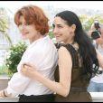 Fanny Ardant et Ronit Elkabetz à Cannes. 21/05/09