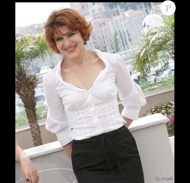 Fanny Ardant à Cannes. 21/05/09