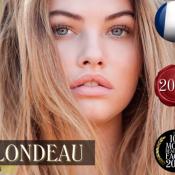 """Thylane Blondeau : La bombe de 17 ans élue """"plus beau visage"""" de l'année 2018"""