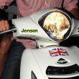 Le scooter de Jenson Button est personnalisé !