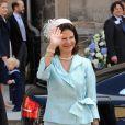 Mariage du prince Hubertus de Saxe-Coburg-et-Gotha et de Kelly Rondesvedt : la reine Silvia de Suède