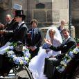Mariage du prince Hubertus de Saxe-Coburg-et-Gotha et de Kelly Rondesvedt