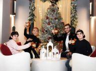 Céline Dion : Craquante photo de famille pour le Nouvel An