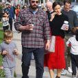 Ben Affleck et Jennifer Garner sont allés à la messe dominicale avec leurs enfants Violet, Seraphina et Samuel à Los Angeles. Le 9 décembre 2018