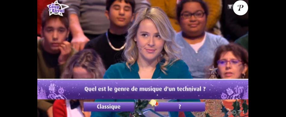 """Anne-Charlotte dans """"Les 12 Coups de midi"""", 5 janvier 2019, TF1"""