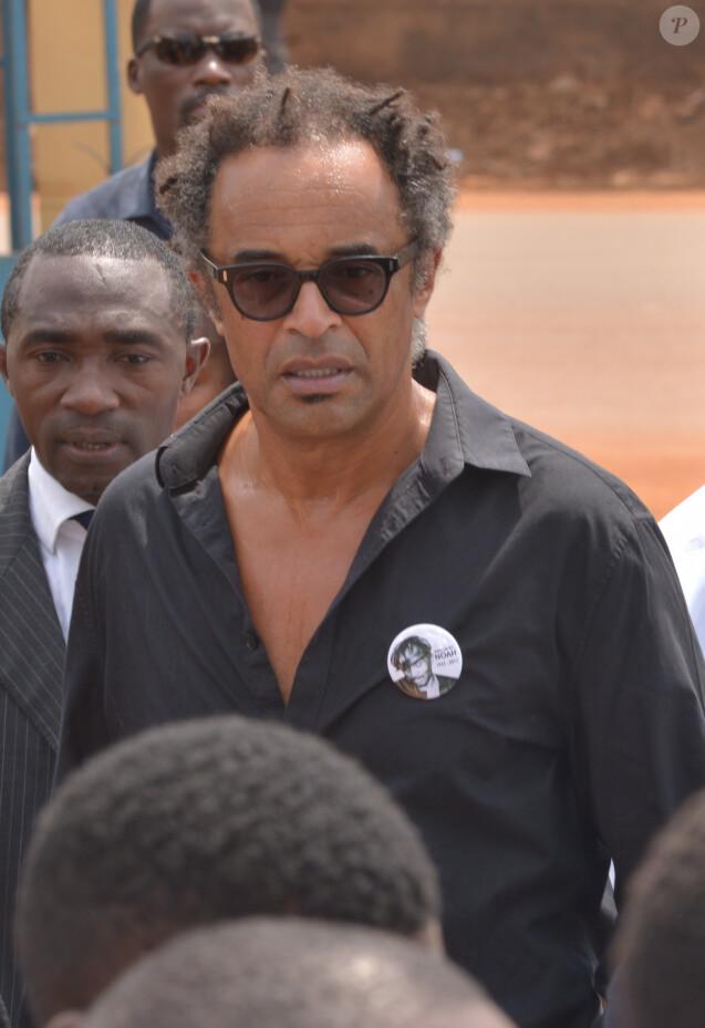 Exclusif - Yannick Noah - Obsèques de Zacharie Noah à Yaoundé au Cameroun le 17 janvier 2017.