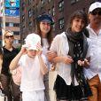 Lourdes et Rocco à la sortie de la kabbale (23 mai, New York)
