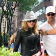 Madonna à la sortie de la kabbale (23 mai, New York)