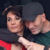 Zinédine Zidane affectueux avec sa femme Véronique, canon en bikini