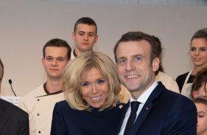 Brigitte et Emmanuel Macron : Pause gourmande à l'Elysée