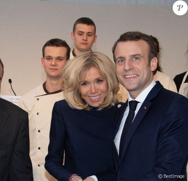 Brigitte Et Emmanuel Macron Pause Gourmande A L Elysee Purepeople
