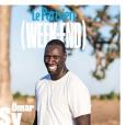 Omar Sy en couverture du Parisien (Week-End) - le 11 janvier 2019