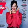 """Helena Noguerra en couverture du magazine """"Télé 7 Jours"""", en kiosques lundi 14 janvier 2019."""