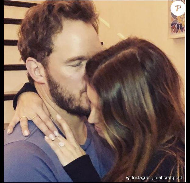 Chris Pratt et Katherine Schwarzenegger se sont fiancés. Instagram, le 13 janvier 2019
