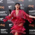 Rossy de Palma - Les célébrités posent lors de la cérémonie de clôture du 66ème festival du film de San Sebastian le 29 septembre 2018.
