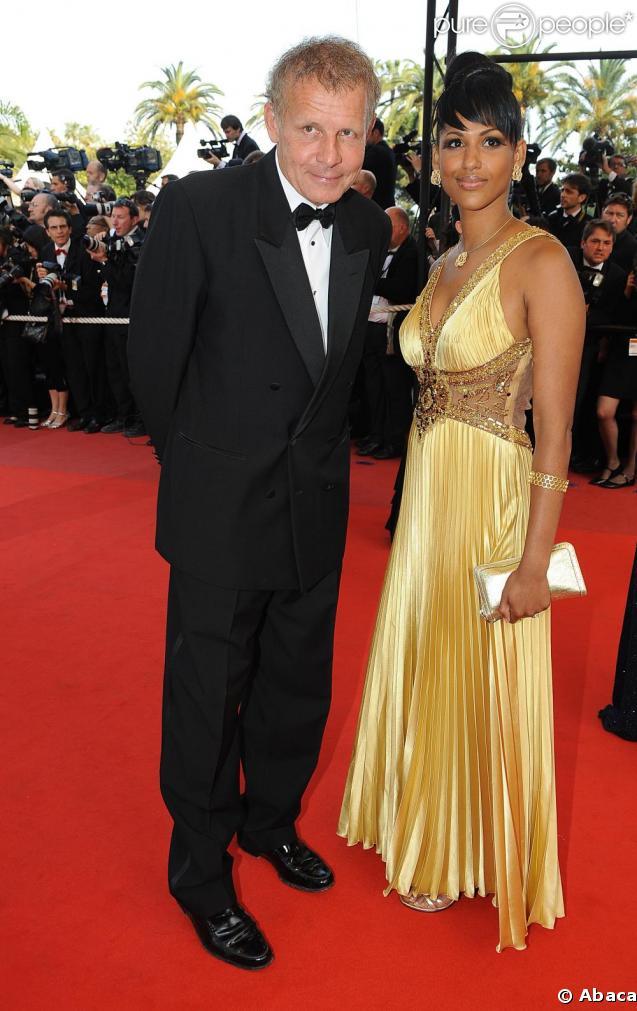 Pascal Poivre d'Arvor et Alexandra Baldeh