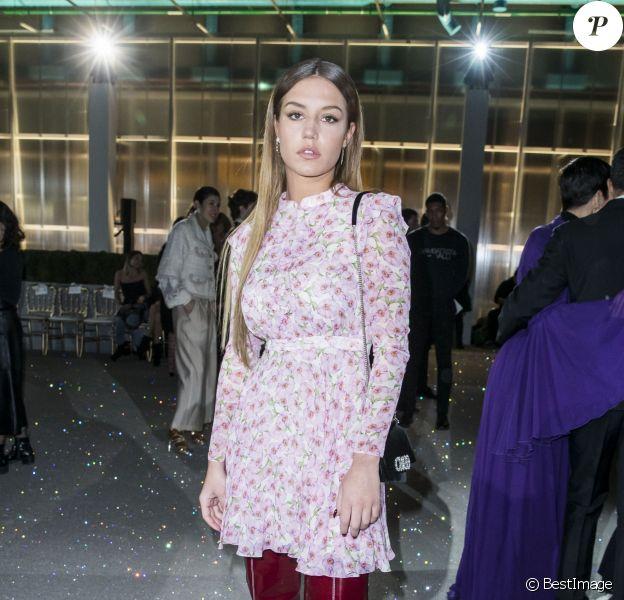Adèle Exarchopoulos - Défilé Giambattista Valli au centre Pompidou lors de la Fashion Week Haute Couture collection printemps/été 2019 de Paris, France, le 21 janvier 2019. © Olivier Borde/Bestimage