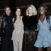 Fashion Week : Alice Taglioni, ravissante avec Anouchka Delon