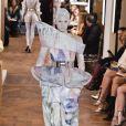 """Défilé Balmain """"Collection Haute Couture Printemps/Eté 2019-2020"""" lors de la Fashion Week de Paris, le 23 janvier 2019."""
